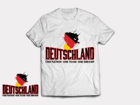 T-Shirt für Fußballfans der Deutschen Nationalmannschaft