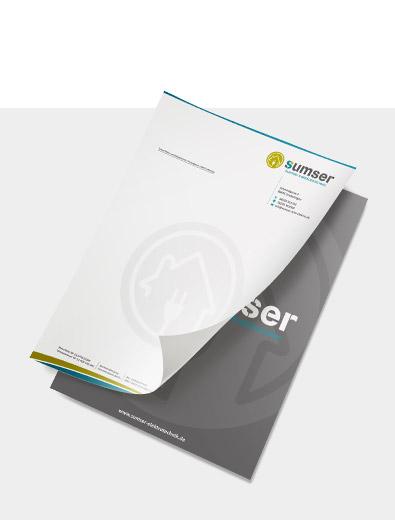 Individuelles Briefpapier-Design zu einem fairen Preis