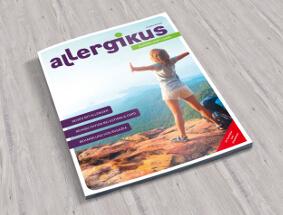 Design einer Zeitschrift für Betroffene mit Allergien