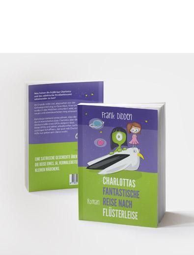 Buchcover-Design für Kinderbuch - Buchcover-Design Beispiel