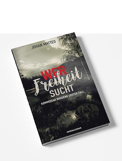 Buchcover-Design für Krimi - Buchcover-Design Beispiel