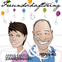 Olaf Henning und Anna-Maria Zimmermann suchen CD-Cover-Design