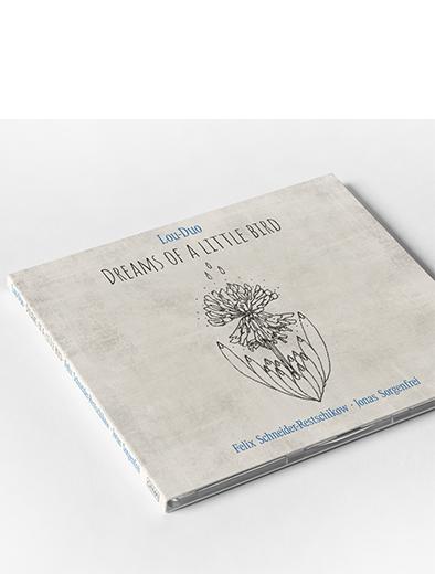 CD-Cover Design für Jazz-Duo - CD-Cover-Design Beispiel