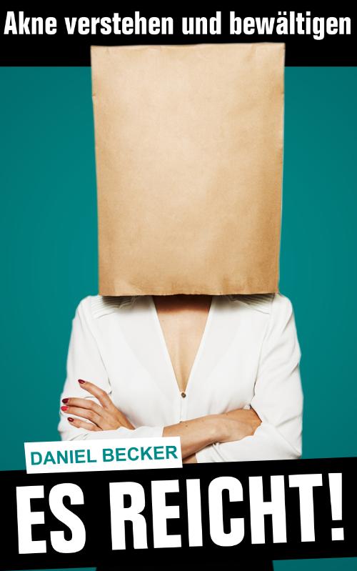 Cover-Design für ein eBook mit dem Thema Akne