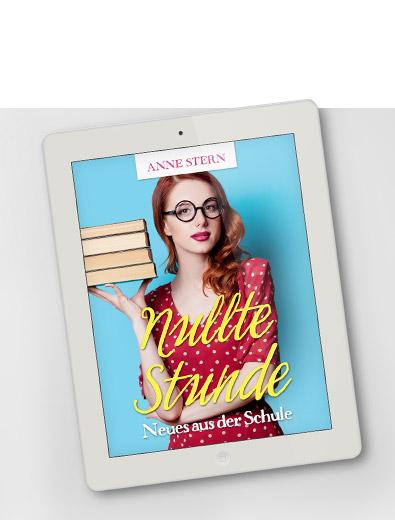 E-Book-Cover für Comedy-Roman - E-Book-Cover-Design Beispiel