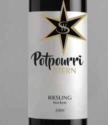 Weinetiketten für eine neue Weinlinie namens Potpourri