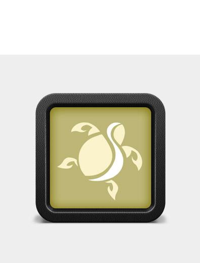 Icon-Design für Ferienhaus - Icon-Design Beispiel