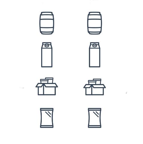 Vier verschiedene Icon-Designs für App/Webseite gesucht