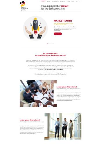 Unternehmensberatung sucht Landing-Page Design mit Wow-Effekt
