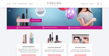 COSLINE Cosmetics, COSLINE Cosmetics