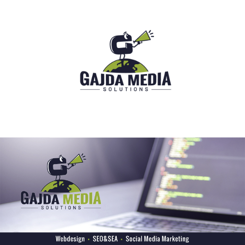 Logo & Social Media Design für Gajda Media Solutions