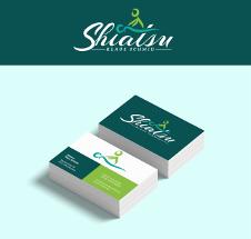 Logo- und Visitenkarten-Design für einen Shiatsu-Praktiker