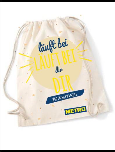 Merchandising Tasche - Merchandising-Design Beispiel
