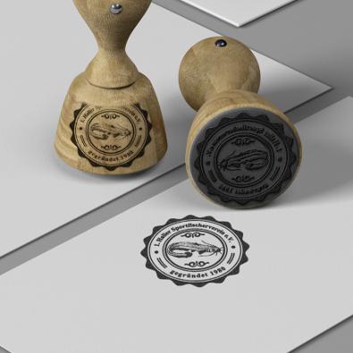 Siegel für Angelverein - Siegel-Design Beispiel